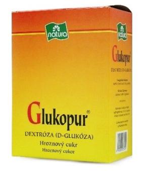 Glukopur je přírodní hroznový cukr
