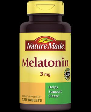 Melanin tablety
