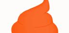 Oranžová stolice udospělého