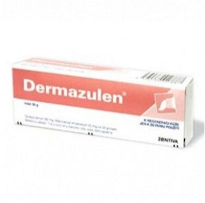 Dermazulen nejen na bércový vřed