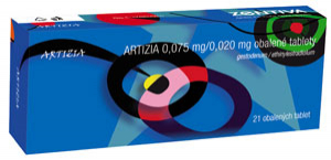 Hormonální antikoncepce Artizia