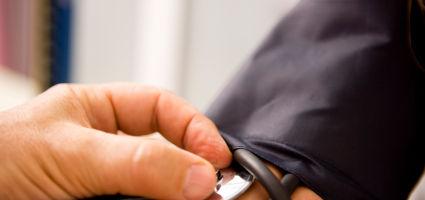 Náhlý pokles krevního tlaku