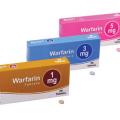 Co nejíst přiužívání Warfarinu